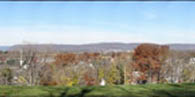 View of Harrisburg from the National Civil War Museum: November