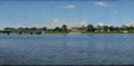 Harrisburg City Skyline