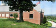 The National Civil War Museum - East Facade with Susquehanna River Gap Beyond
